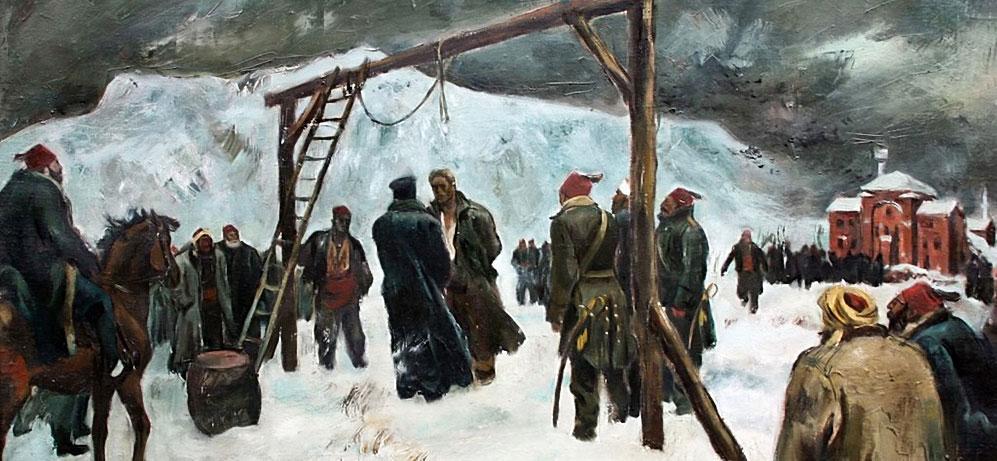 Апостолът Васил Левски е обесен на 18.02.1873