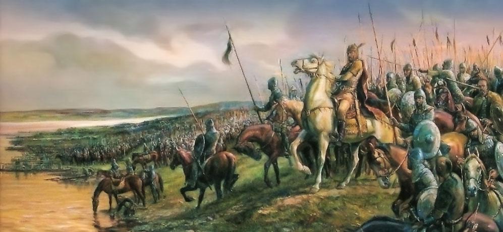 Хан Аспарух основава България през 681г.