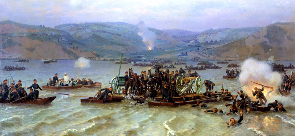 Руско-турска война 1877-1878 – десанта при Свищов