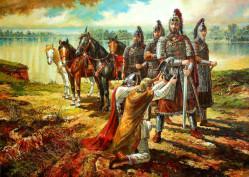 Посрещането на Аспарух на юг от Дунава - В. Горанов