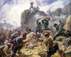 Димитър Гюдженов - Боят при Шипка