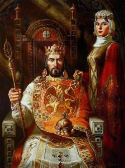 Цар Калоян и Целгуба – В. Горанов