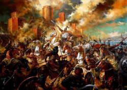 Хан Тервел в битката с арабите при Константинопол - (717-718) - В. Горанов