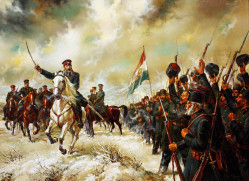 Генерал Гурко поздравява опълченците (1877-1878) - В. Горанов